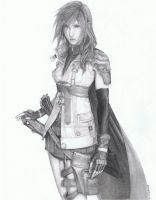 Final Fantasy XIII - Lightning by Angel-of-Nether