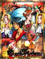 The Vision of Escaflowne by kaliko-rosa