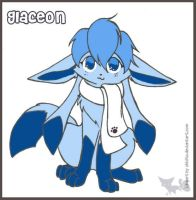 Glaceon by Apple-Rings