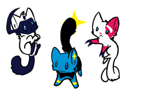Pokemon Cat Adoptables 3 Open by Raysaur