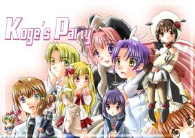 Koge's Party by yuina19