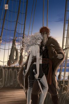 On Without-Color shipboard by Vyrhelle-VyrL