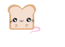 Toast Mouse by iamsleepless