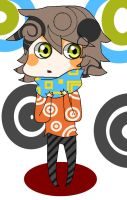 (AUCTION) Cute funky chibi boy Adoptable (CLOSED) by FunkyDreamer
