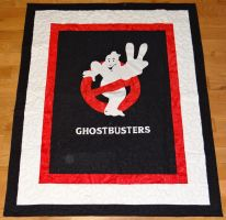 Ghostbusters 2 Quilt by quiltoni