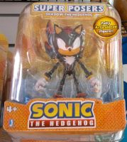 Shadow the Hedgehog figure by sonicfan40