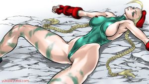 Cammy defeated. by yuriai-dA