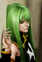 C.C Code Geass by ultraseven81
