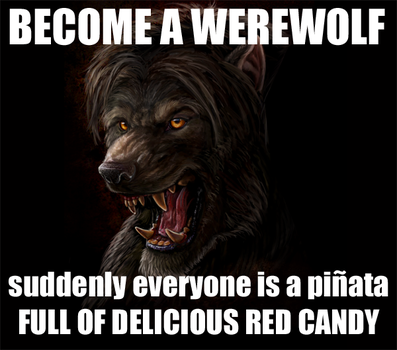 Become a Werewolf by Viergacht