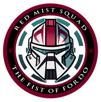 Red Mist Squad Insignia by JoeHoganArt