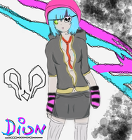 Dion Cyanite (My Female RWBY OC) by Ashcorp23