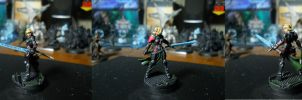 Infinity the Game: Pan-O, Joan of Arc LE 2 by SephKnight
