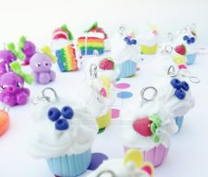 Polymer Clay creations by kikums