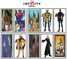 My Own Disney Infinity Figure Ideas by jacobyel