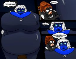 Black Cat Blueberry Blowup 7 by pigsofdoom