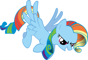 RQ: Rarebow Dash by Drewdini