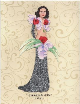 Hedy Lamarr paper doll by pdgregg