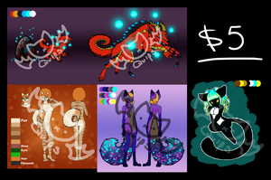$5 Adoptable Batch [[OPEN]] by olivia8383