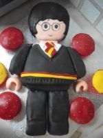 Lego Harry Potter Cake 1 by Sakurakate