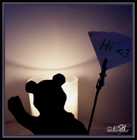 + Beary Silhouette + by Silver-Dew-Drop