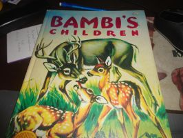 Bambi's children book by LOST09