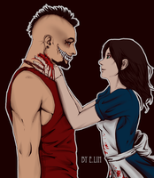 Vaas and Alice by Lulu-E-Lin