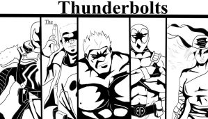 The Tunderbolts by marvelnerd87