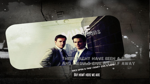 Neal Caffrey and Peter Purke by XxFallenStorms