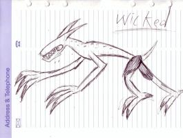 Doodle wicked by sinako777