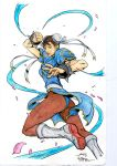 Chun Li - Alvin Lee - Egli - Freeman - Watercolors by SurfTiki