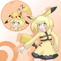 Pika-girl by CrazyForGakupo