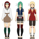 Naruto OC Adoptables #1 by Purinsesu-sama