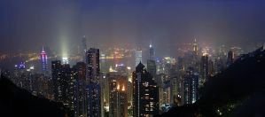 The Peak - Hong Kong by satnitefever