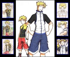 Evolucion de Axel by shadics