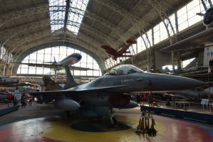 F16 - Brussels Aviation Museum by PhilsPictures