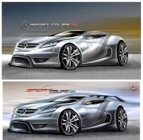 Mercedes Sport Coupe 2 by fubiladesign