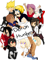 Demon Hunters Collab .:DONE:. by yukicaster