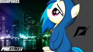 Need For Speed Vinyl Scratch Night by Vaux111