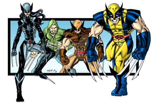 The Wolverine Family by nerp