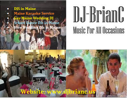 Maine DJ Services by DJCBrian