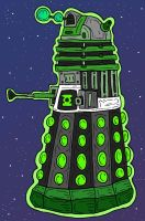 Green Lantern Dalek by Lordwormm