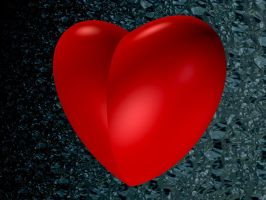 Big Red Heart by jost1