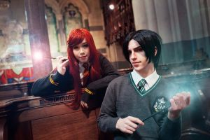 Lily and Severus: The two of us by darcywilliam