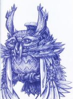 Clockwork Owl by jbrenthill