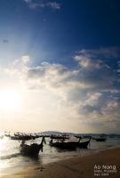 Ao Nang beach by Rlew