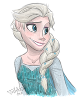 Snow Queen by JustAutumn