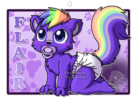 Flair Badge by Veemonsito
