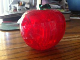 3D Puzzle: Red Apple by Getsuei-san