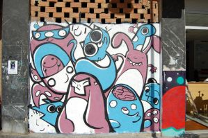 Graffiti COLORED 2 by Bicss
