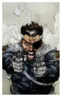 nick fury practise colors by videsh